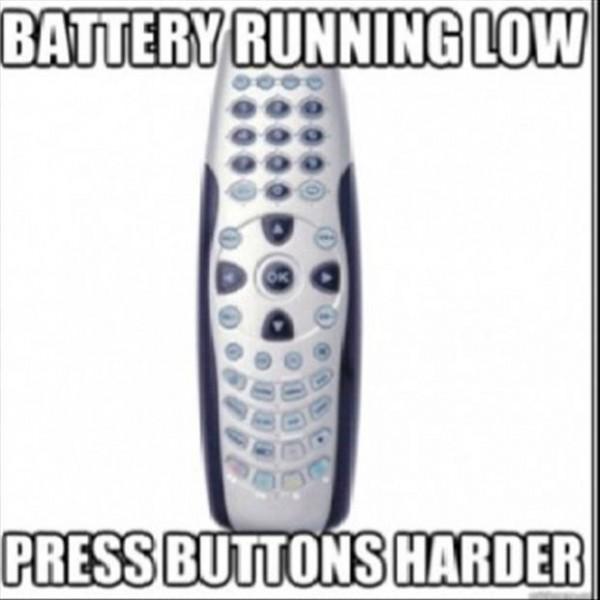 Battery Running Low