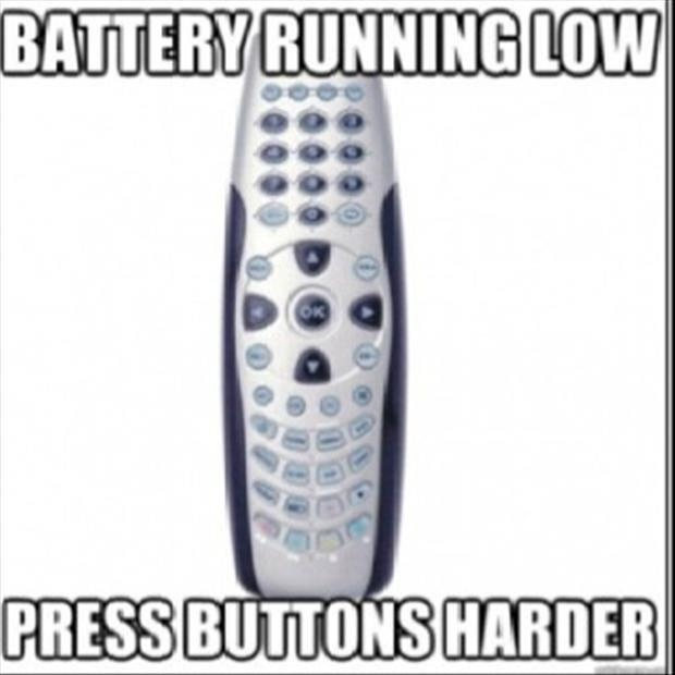 Battery Running Low Funny Meme