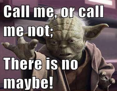 Call Me or Call Me Not