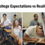 College Expectations vs Reality Funny Meme
