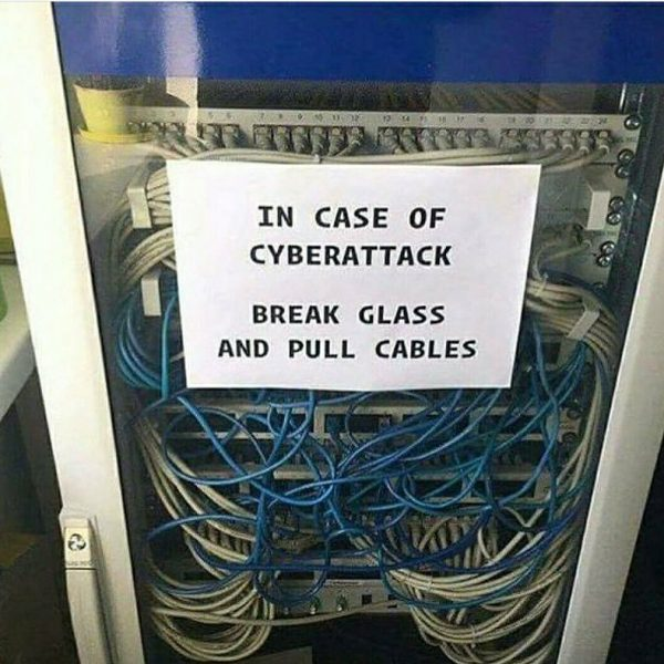 Cyberattack Funny Meme