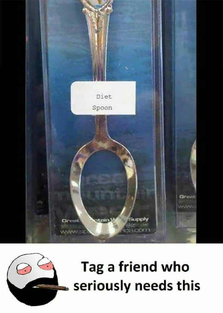 Diet Spoon Funny Meme – FUNNY MEMES