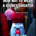 Disney sweater fail Funny Meme