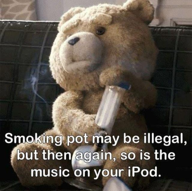 Downloading Music is Illegal Funny Meme