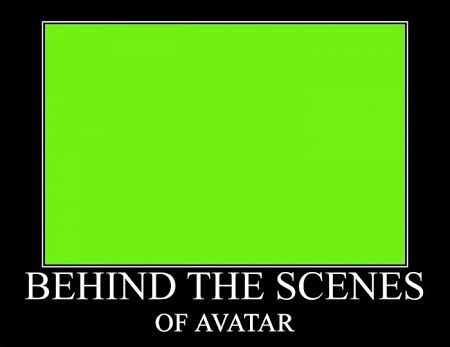 Exclusive behind the scenes of Avatar Funny Meme