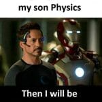 Father of Physics Funny Meme