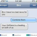 Girlfriend Cheating Both Funny Meme