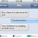Girlfriend Cheating Both Funny Meme