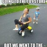 Going to Toy Store But Went to Dentist Funny Meme