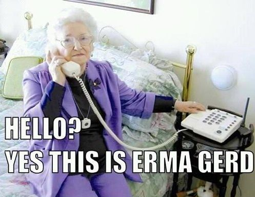 Grandma Ermagerd Funny Meme