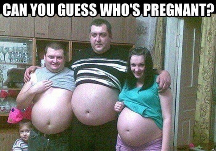 Guess Whos Pregnant Funny Meme