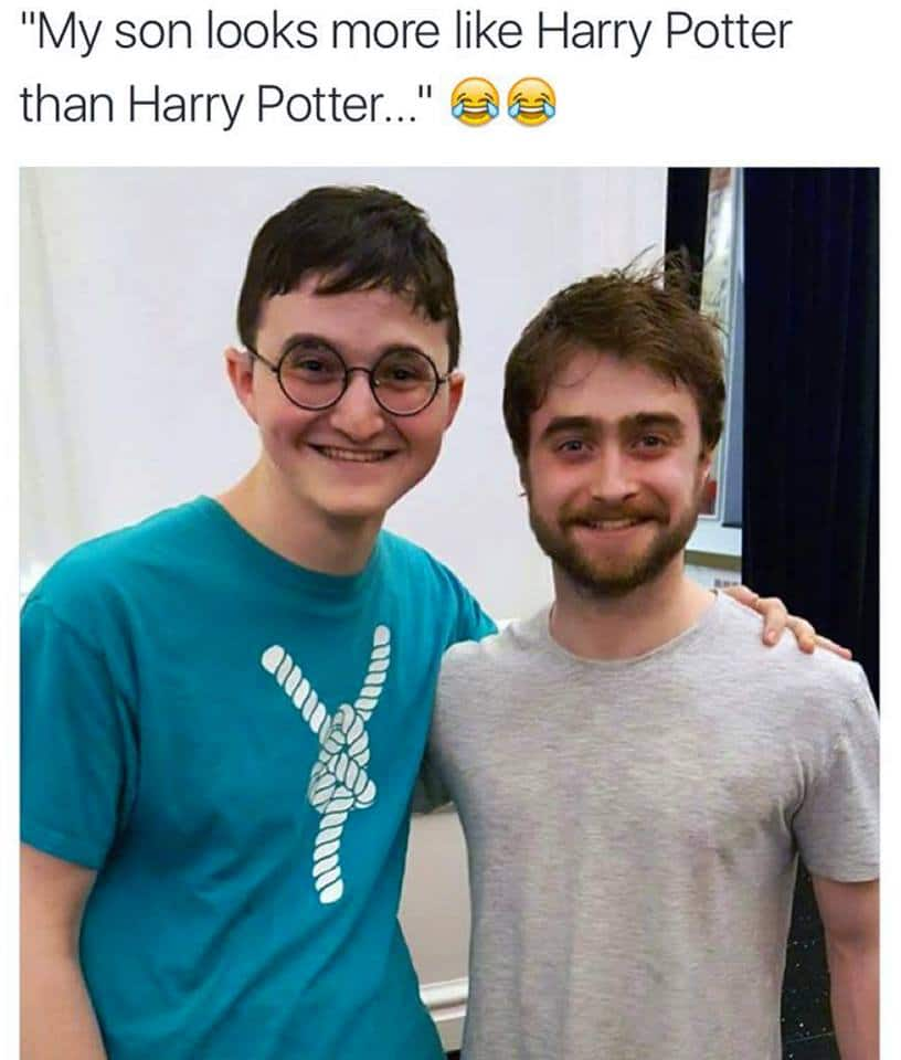 Harry Potter Look a Like vs Real Funny Meme