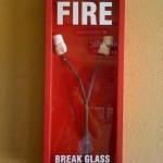 In Case of Fire Funny Meme