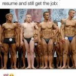 Lie on your Resume Funny Meme