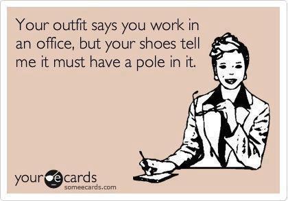Office Pole Funny Meme