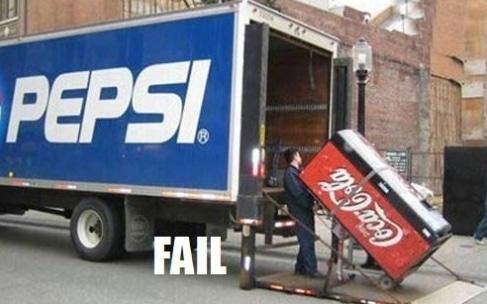 Pepsi CokeCola Fail Meme