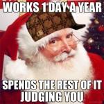 Santa Christmas Funny Meme