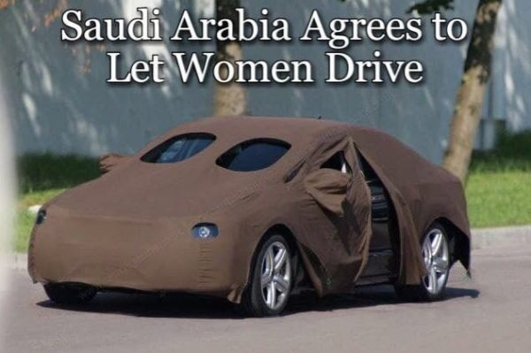 Saudi Arabia Agrees to Let Women Drive Funny Meme