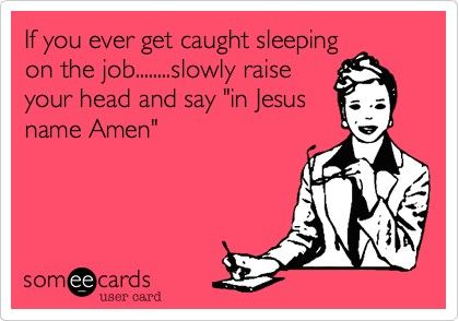 Sleeping_on_the_Job_Funny_Meme god memes funny memes