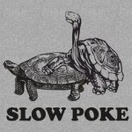 Slow Poke Funny Meme