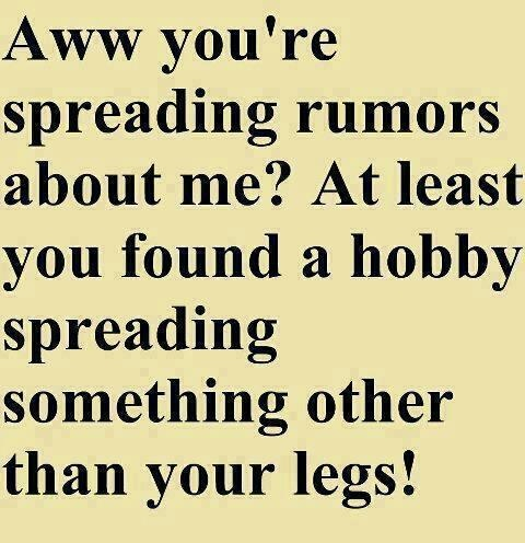 Spreading Rumors Funny Meme