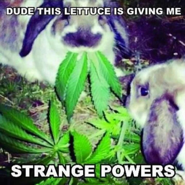 Strange Powers Funny Meme