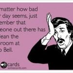 Taco Bell Bathroom Funny Meme