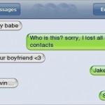 Text Fails Your boyfriend Funny Meme