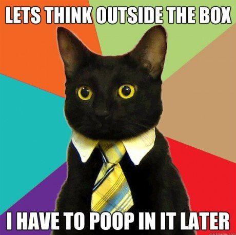 Thinking Outside the Box Funny Meme
