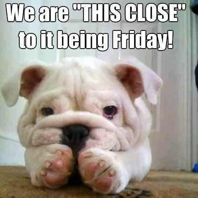 This Close to Friday Funny Meme