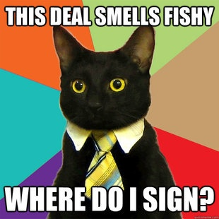 This Deal Smells Fishy Funny Meme