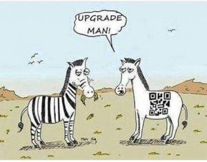 Upgrade Man Funny Meme
