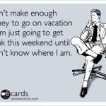 Vacation Funny Meme