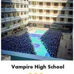 Vampire High School Funny Meme