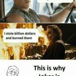 Vin Diesel vs Joker Passion Funny Meme