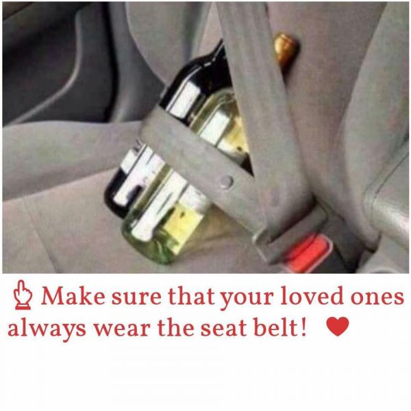 Wear Seat Belt Funny Meme