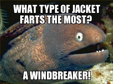 What type of jacket farts the most Funny Meme