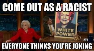 White power Funny Meme