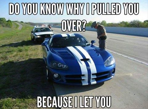 Why I Pulled You Over Funny Meme