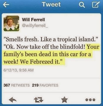 Will Ferrell smells like fish Funny Meme