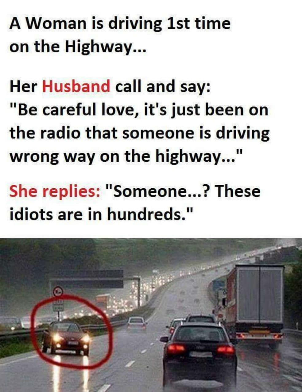 Woman Driving 1st Time Funny Meme