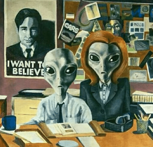 X Files Funny Meme